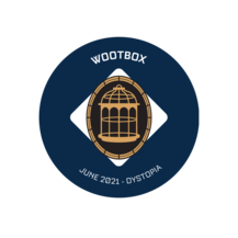 Pin's exclusif Wootbox Dystopia