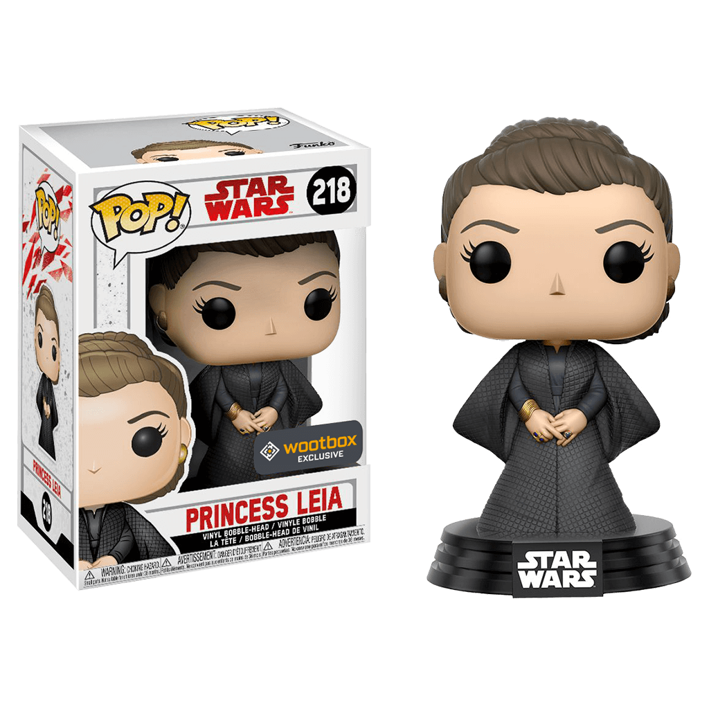 Pop! Star Wars - Princesse Leia (Wootbox Exclusive)